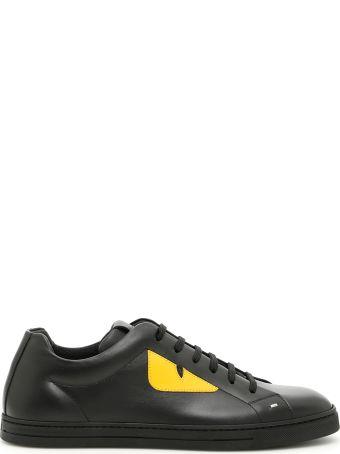 Fendi Calfskin Mix Sneakers