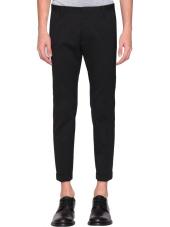 Dsquared2 Slim Fit Wool Trousers