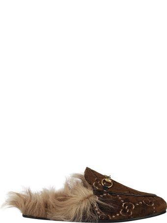 Gucci Gg Supreme Slippers