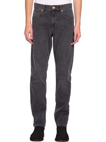 Isabel Marant Washed Black Jack Jeans