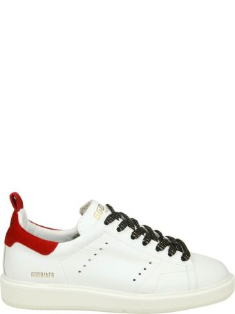 """Golden Goose Sneakers """"starter"""" In White Leather"""