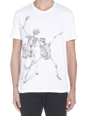 Alexander McQueen 'jumping Skeleton' T-shirt