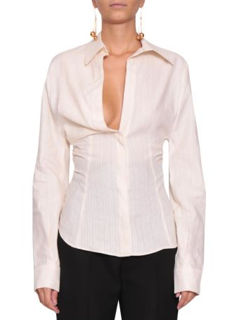 Jacquemus Linen And Cotton Shirt