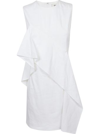 Diane Von Furstenberg Ruffled Front Dress