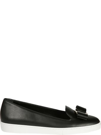 Salvatore Ferragamo Vara Bow Slip-on Sneakers