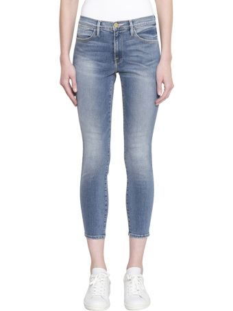 Frame Le High Skinny Cotton Denim Jeans