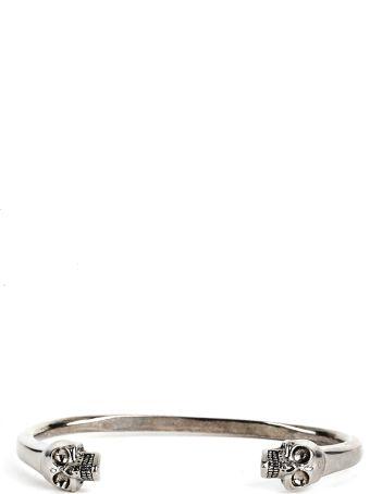 Alexander McQueen  Stiff Skulls Bracelet
