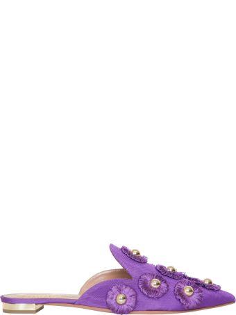 Aquazzura Sunflower Slippers