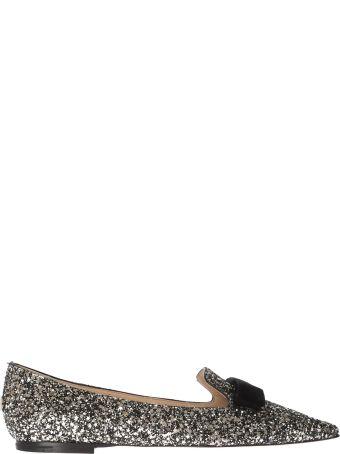 Jimmy Choo Gala Glittery Slippers