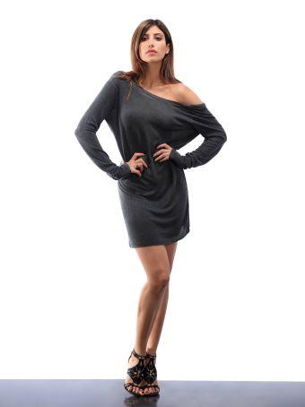 Altalana Dress With Open At Back 27-jet Set