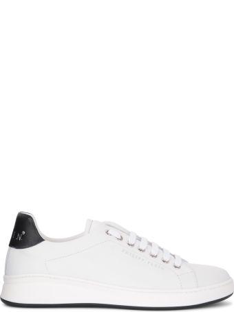 Philipp Plein Lo-top Originalblack And White Nappa Sneaker