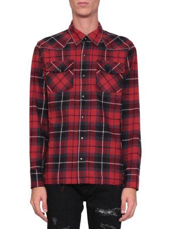 Overcome Check Cotton Shirt