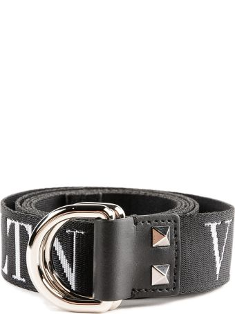 Valentino Garavani Vltn Print D-buckle Belt