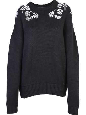Dsquared2 Black Oversized Sweater