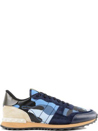 Valentino Garavani Camo Print Sneakers