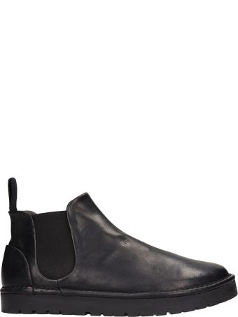 Marsell Beatles Black Leather Boots