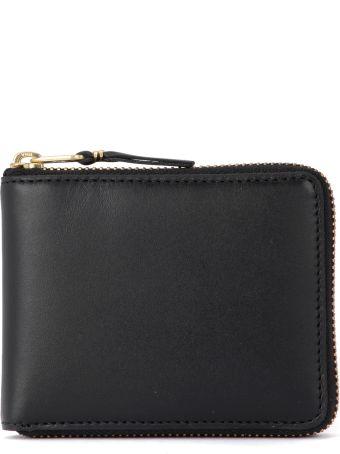 Comme des Garçons Wallet Comme Des Garçons Black Leather Wallet