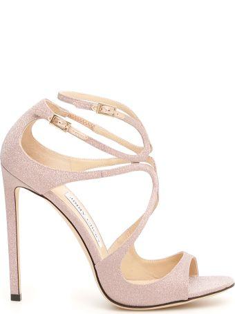 Jimmy Choo Glitter Lance Sandals