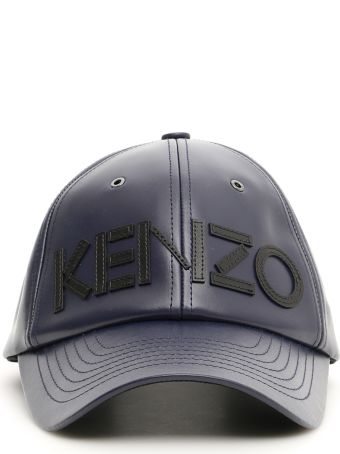 Kenzo Unisex Leather Baseball Cap