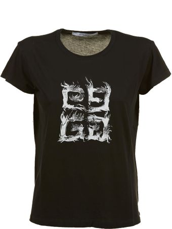 Givenchy 4g Flame Print T-shirt