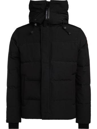 Canada Goose Macmillian Black Jacket With Hood