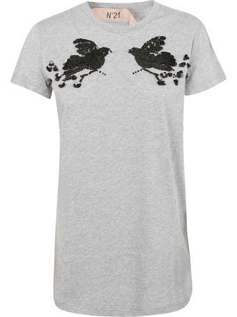 N.21 Sequin Embellished T-shirt