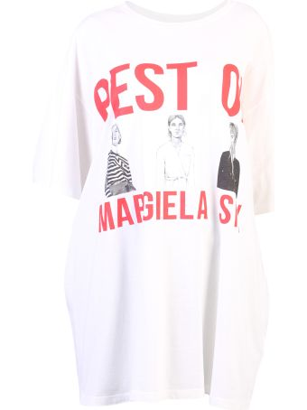 MM6 Maison Margiela White Oversized  T-shirt