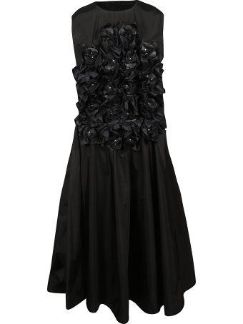 Moncler Flower Applique Dress