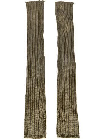Rick Owens Ribbed Arm Warmer