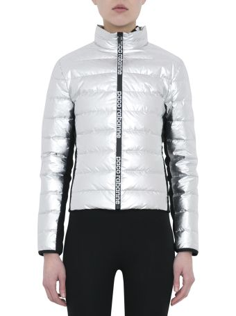 Paco Rabanne Metallic Down Jacket