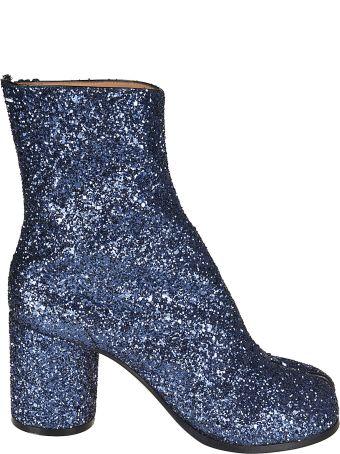 MM6 Maison Margiela Mm22 Maison Margiela Glittered Ankle Boots