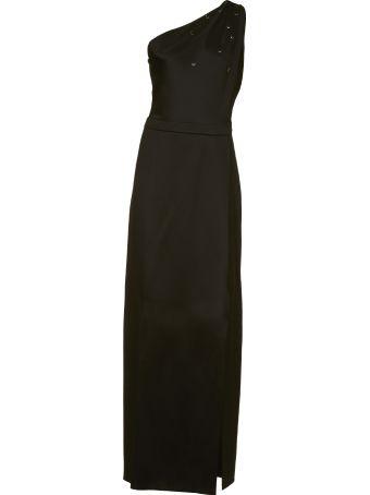 Lanvin Asymmetric Hemline Dress
