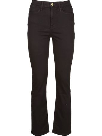 Frame Mid-rise Straight Jeans