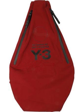 Y-3 Logo Print Crossbody Bag