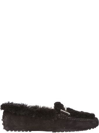 Tod's Fur Loafers