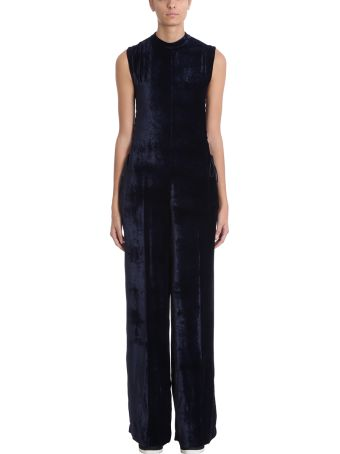 Stella McCartney Blue Velvet Jumpsuit