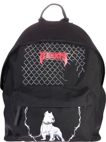 Marcelo Burlon Black Printed Backpack