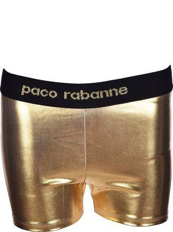 Paco Rabanne Logo Waist Shorts