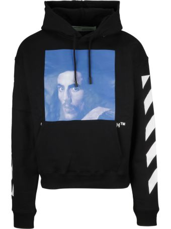 Off-White Oversized Graphic Hoodie