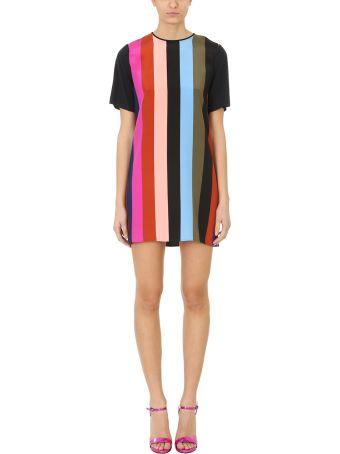 Diane Von Furstenberg Multicolor Fluid Dress