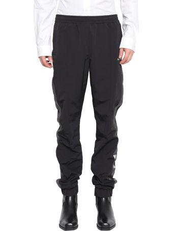 MISBHV Black Taped Track Pants