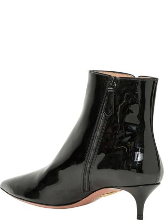 Aquazzura Patent Leather Sìankle Booties