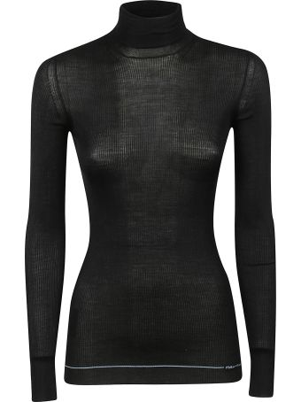 Prada Ribbed Turtle Neck Sweater