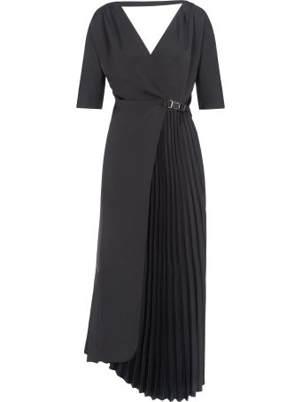 Prada Long Dress Pleates