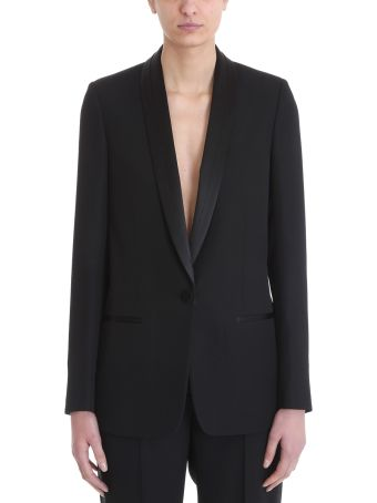 Maison Margiela Black Wool Blazer