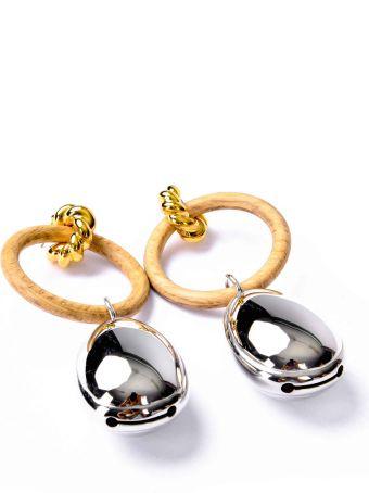 Balenciaga Round Earrings