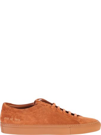 Common Projects Suede Leather Sneakers