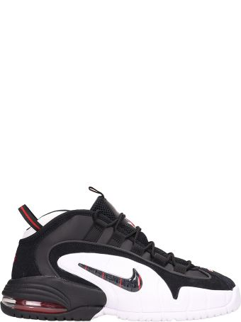 Nike Air Max Penny Black Leather Sneakers