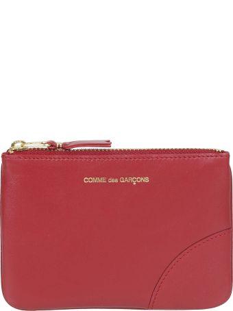 Comme des Garçons Wallet Logo Embossed Wallet