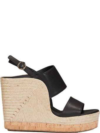 Salvatore Ferragamo Slingback Wedge Sandals